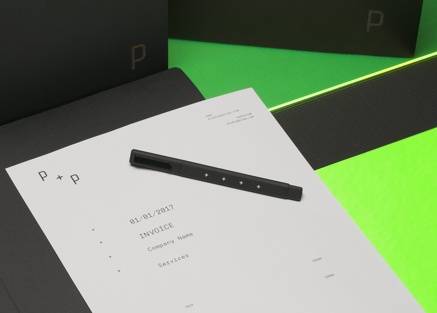 Studio P+P Stationery