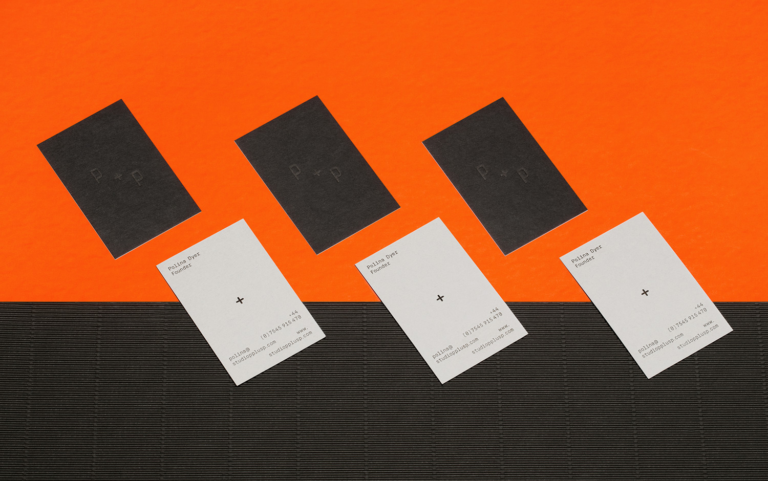 Studio P+P, business cards